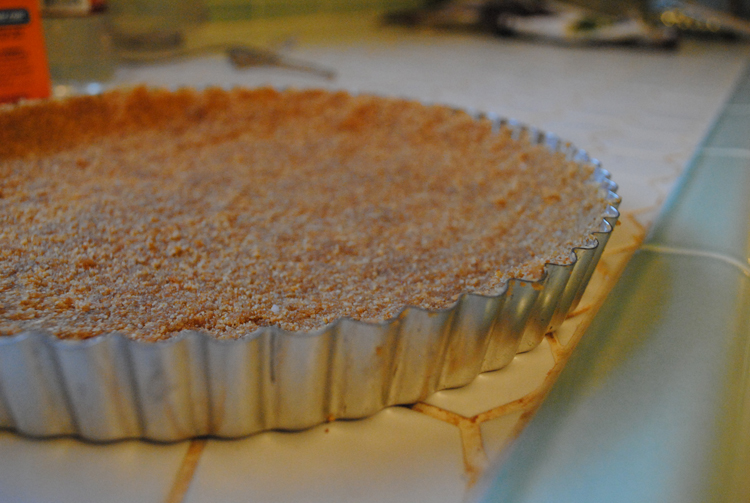 ... Peanut Butter Honeycomb Pie . It was love at first sight. I was